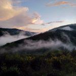crépuscule vallée cevenole