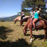 Panorama balade à cheval